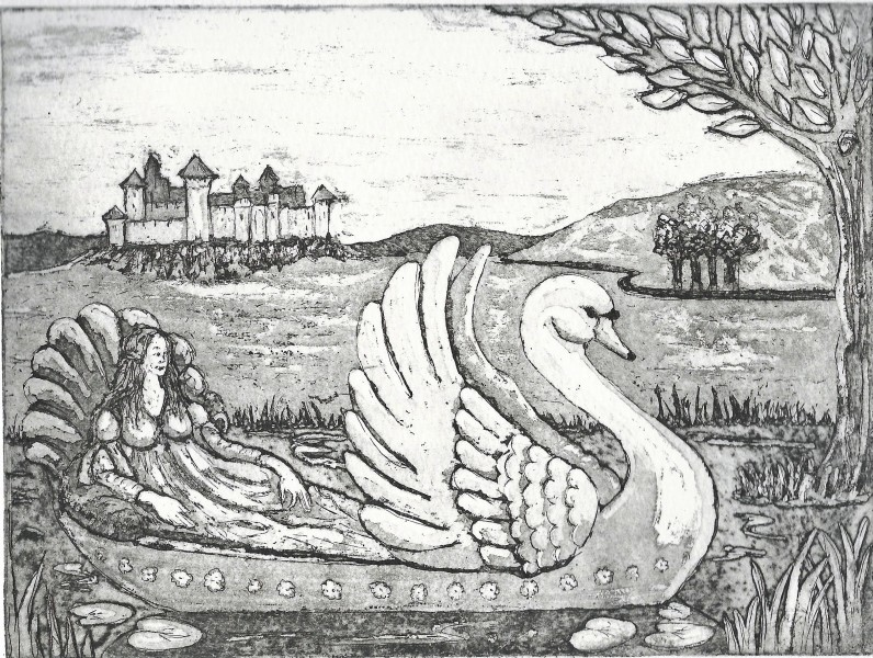 Swan Boat. Copyright K. Philpotts